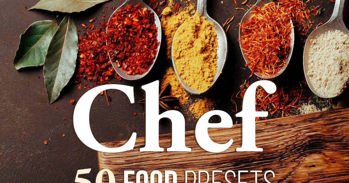 Download Chef - Food Presets for Desktop & Mobile by Presetrain