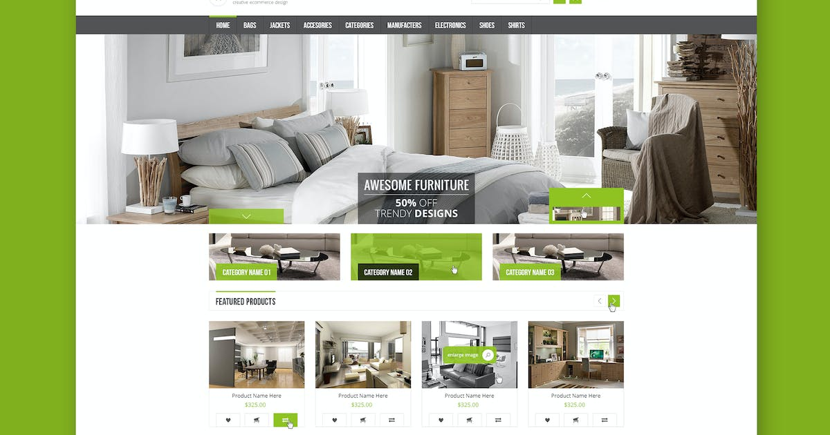 Download Online Sale - eCommerce PSD Template by Unknow
