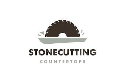 Stone Cutting Logo