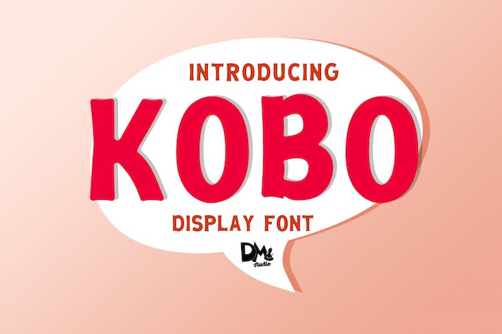 Thumbnail for KOBO - Шрифт дисплея