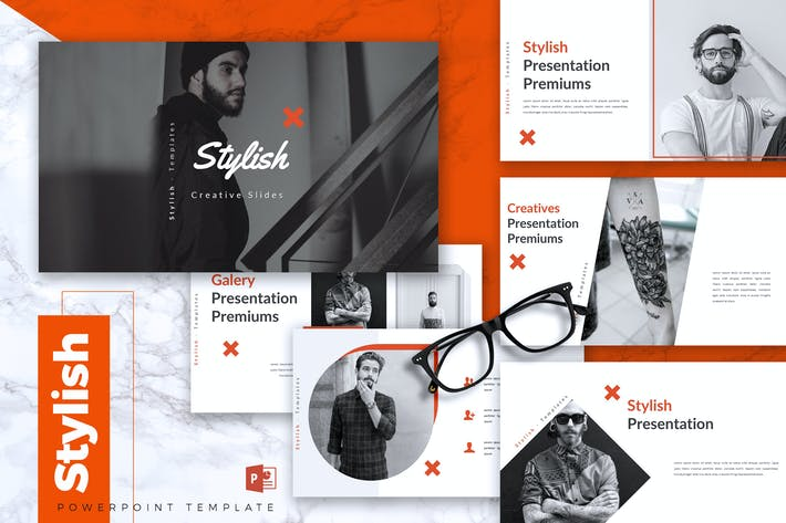 Thumbnail for STYLISH - Creative Powerpoint Template