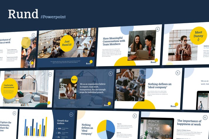 Thumbnail for RUND - Modern Business Powerpoint Template