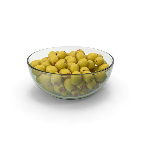 Olives Without Seeds In Bowl
