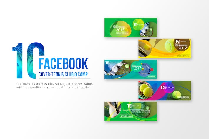 Thumbnail for 10 Facebook Cover-Tennis Club and Camp