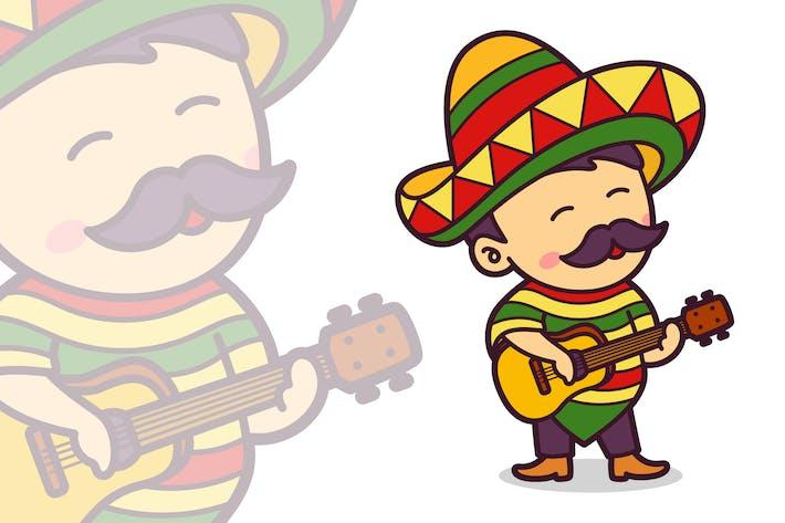 Mexican Guitarist