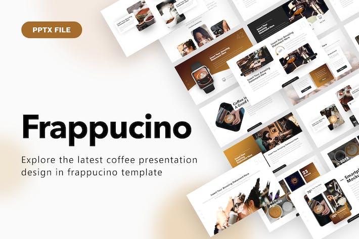 Thumbnail for Фраппучино Кофе Powerpoint Презентация Шаблон