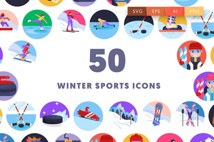 Thumbnail for Winter Sports Icons