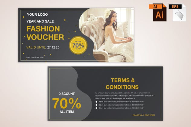 Fashion Voucher - product preview 0