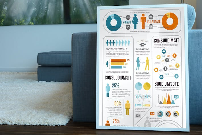 Thumbnail for Comprehensive Infographics Template