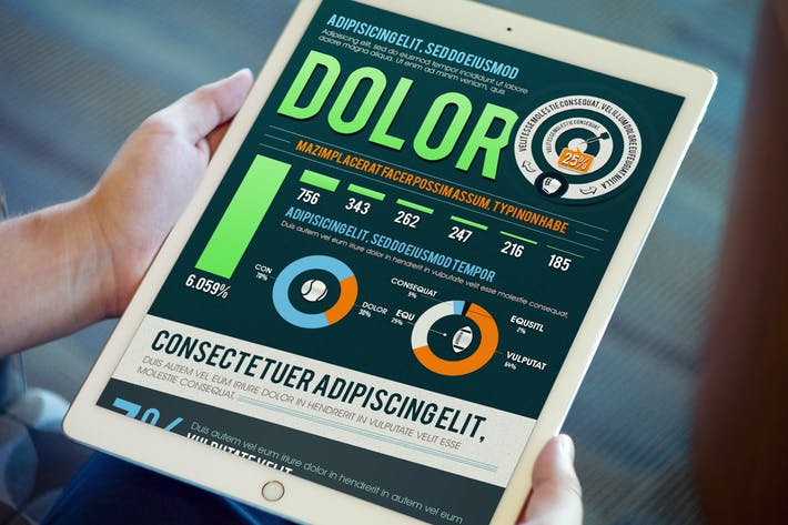 Cover Image For Professional Business Infographics Template