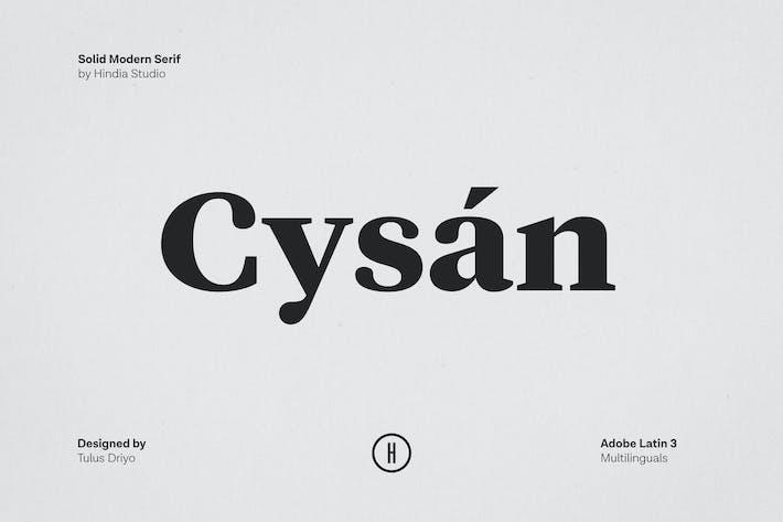 Thumbnail for Cysan - Modern Serif