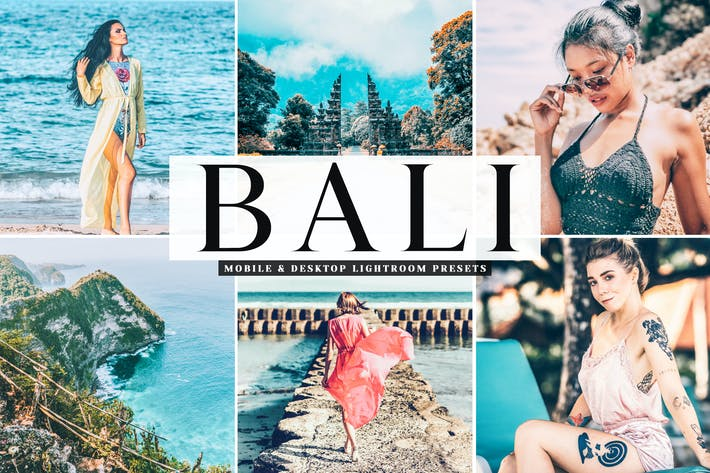 Cover Image For Bali Mobile & Desktop Lightroom Presets