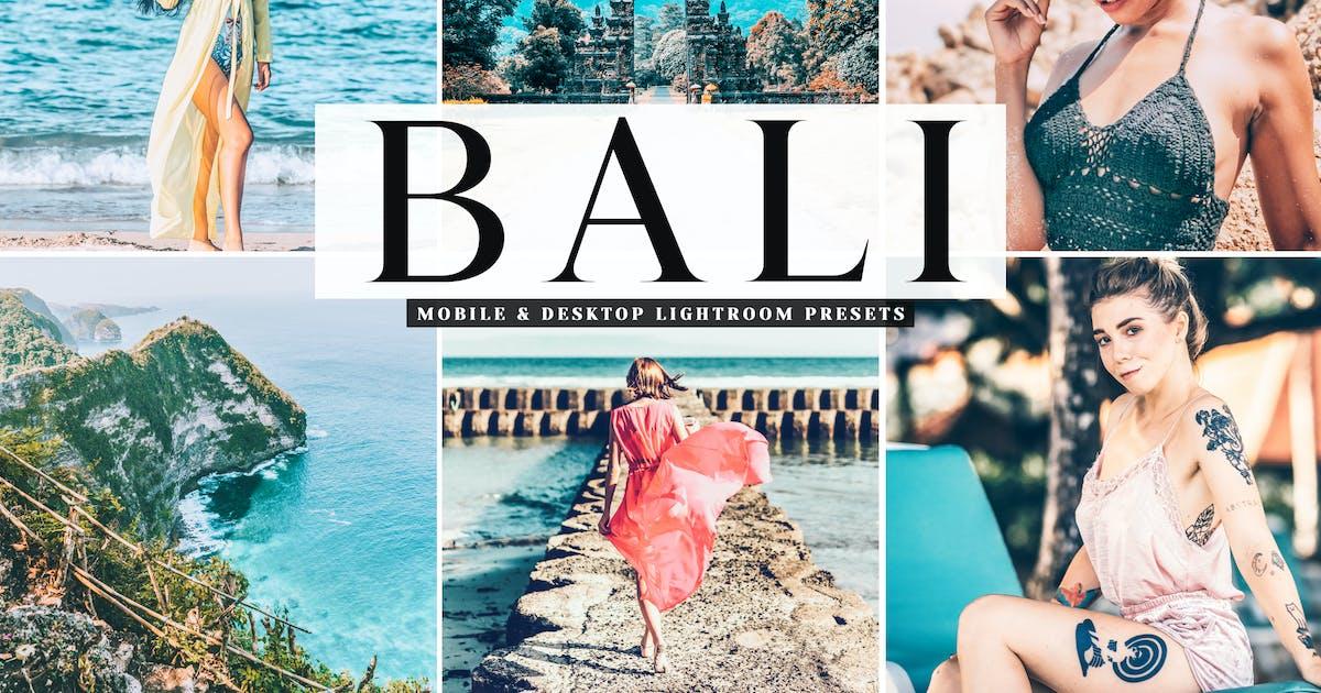 Download Bali Mobile & Desktop Lightroom Presets by creativetacos