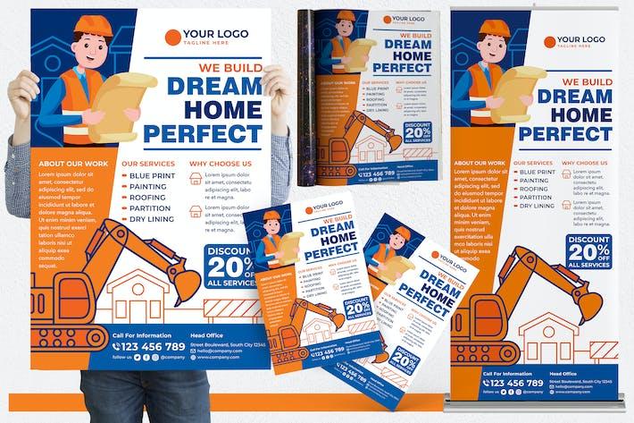Thumbnail for House Repair #01 Print Templates Pack