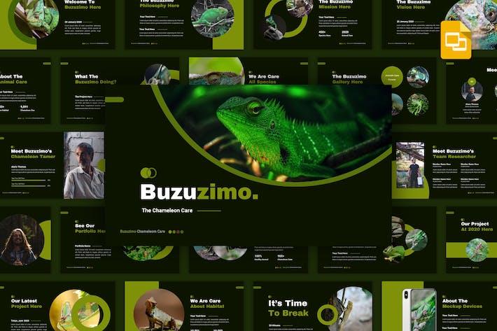Buzunismo - Уход за животными Google слайды Шаблон