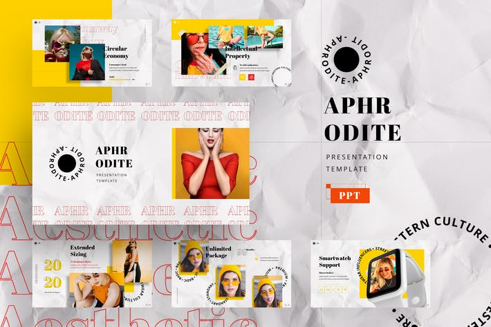 Thumbnail for Aphrodite - Streetwear Powerpoint Template