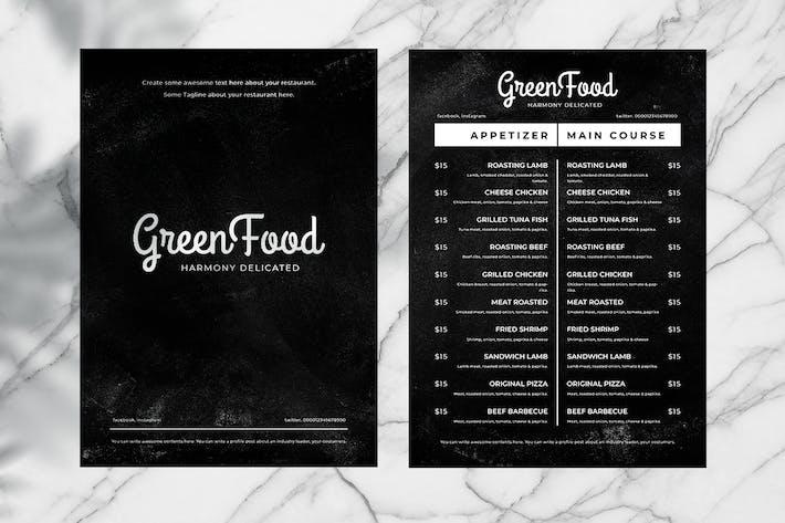 Thumbnail for Blackboard Food Menu. 10