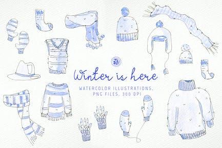 El invierno está aquí.