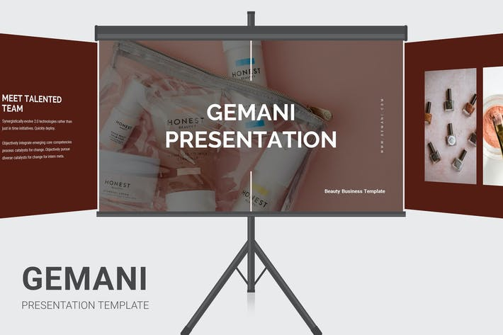 Thumbnail for Gemani - Beauty Business Keynote
