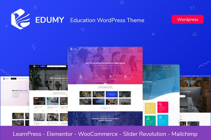 Edumy - LMS Online Education WordPress Theme