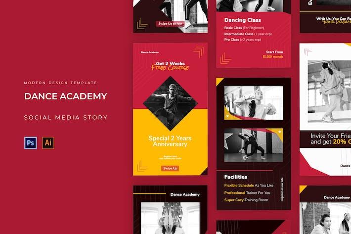 Dance Academy Instagram Story