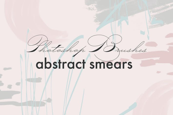 Thumbnail for Abstract smears - PS Brushes