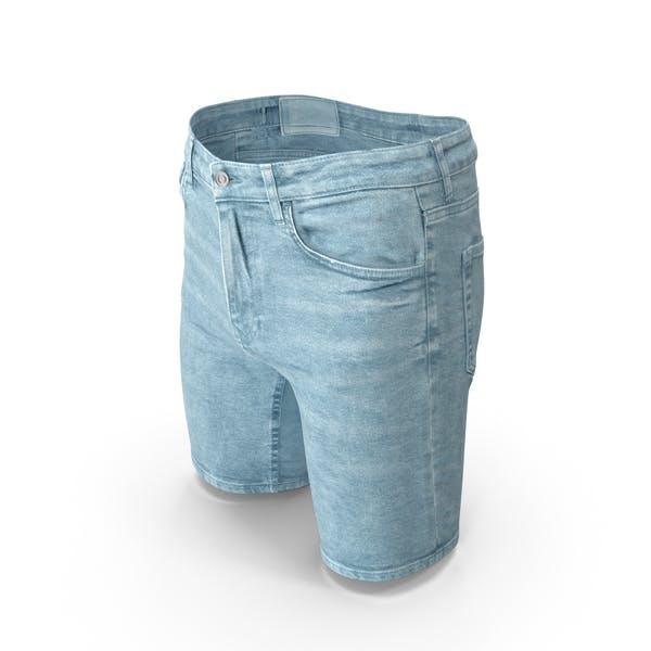 Men's Shorts  Light Blue