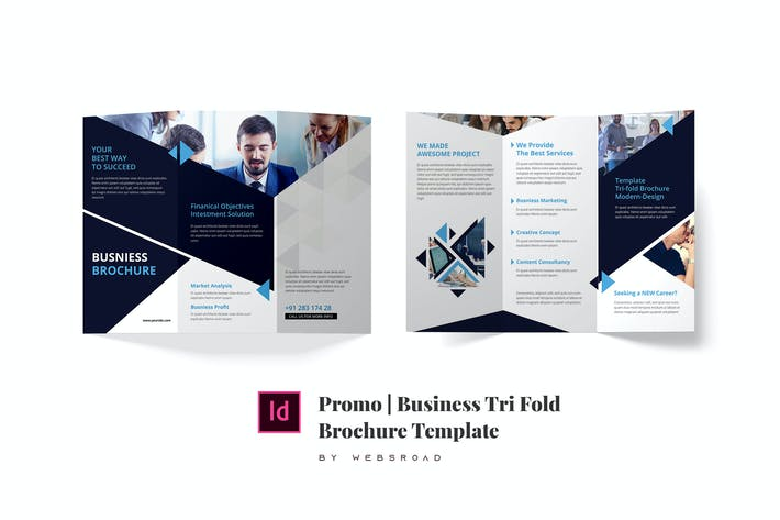 Thumbnail for Promo | Business Trifold Brochure Template