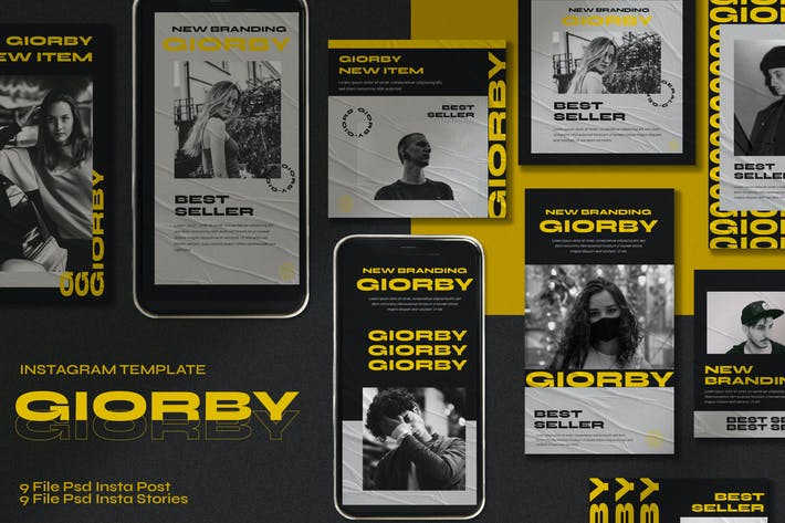 Thumbnail for Giorby Instagram Post Stories