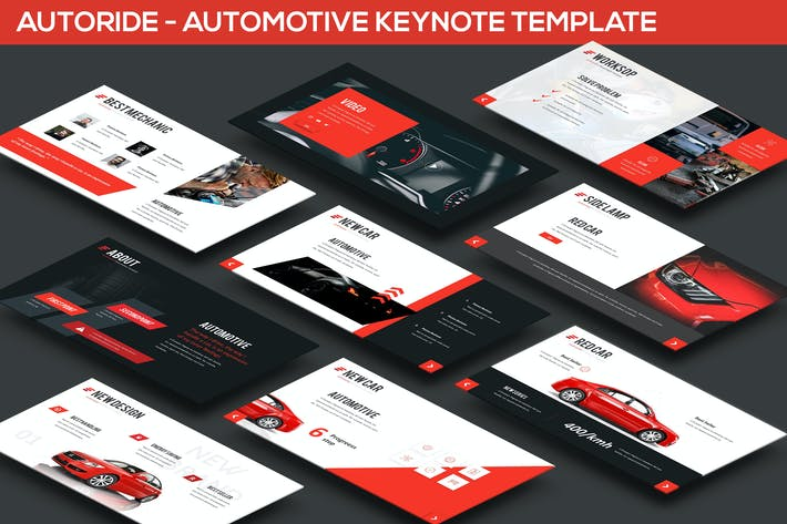Thumbnail for Autoride - Automotive Keynote Presentation
