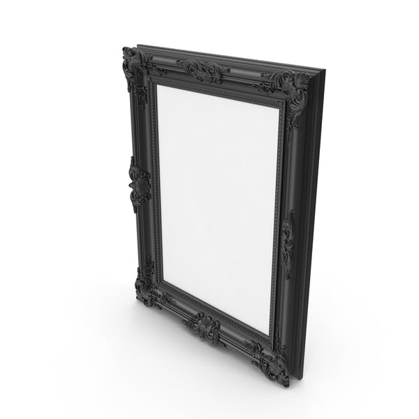 Cover Image for Black Baroque Picture Frame