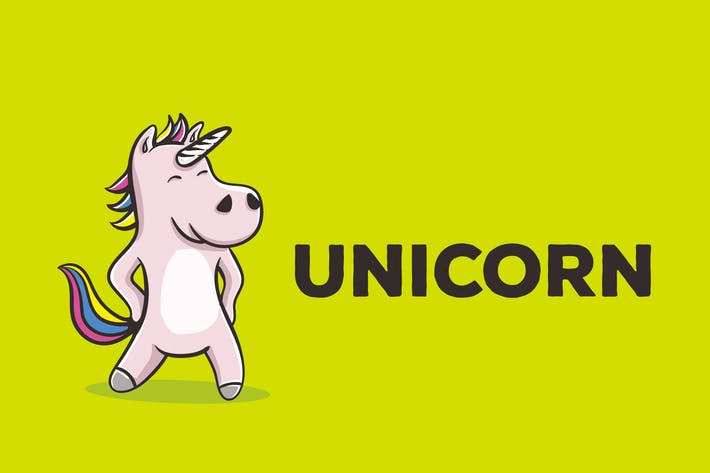 Thumbnail for Unicorn Vector Illustration Artwork