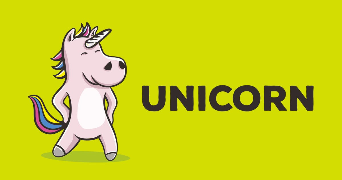 Download Unicorn Vector Illustration Artwork by peterdraw