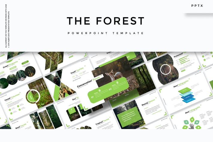 The Forest - Powerpoint Template