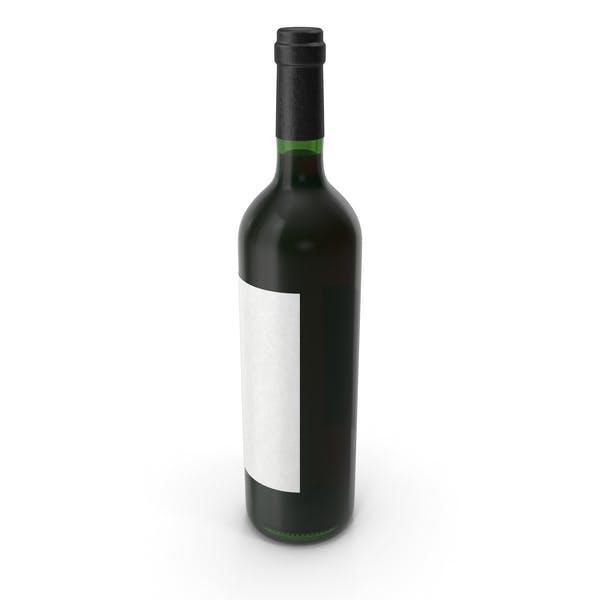 Бутылка вина Красное вино