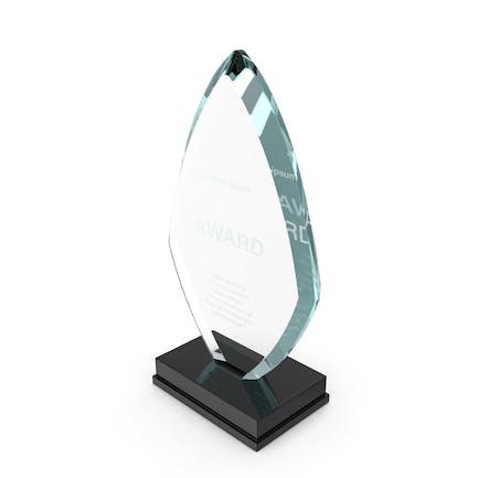 Flame Glass Award Trophy