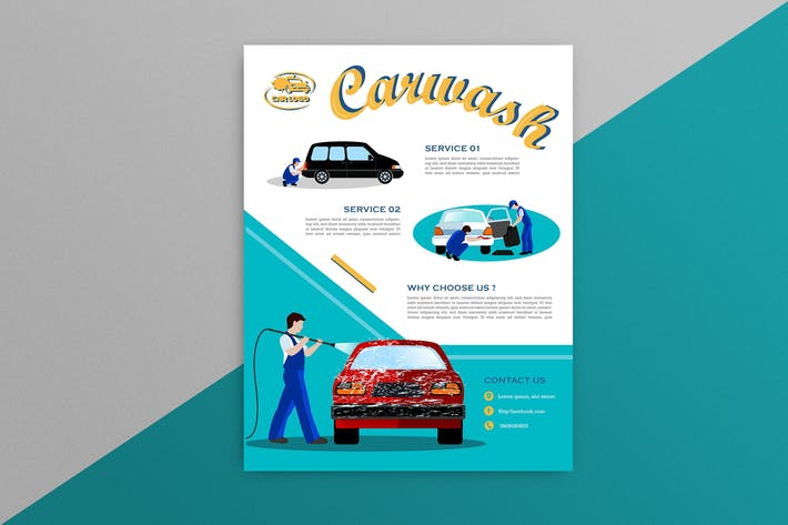 Thumbnail for Car Wash Flyer 6