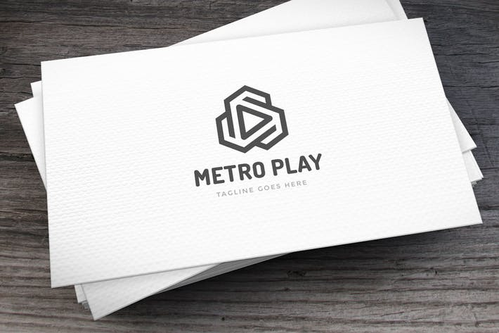 Thumbnail for Metro Play Logo Template