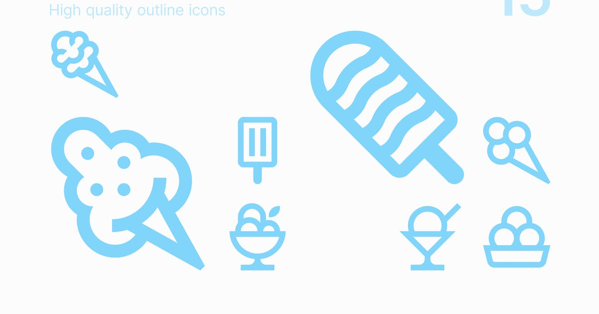 Download Ice Cream Icons by polshindanil