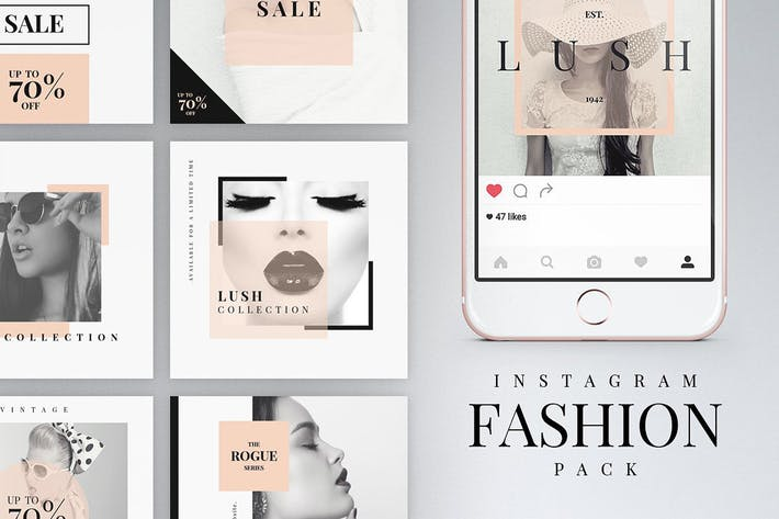 Cover Image For Instagram Fashion Pack