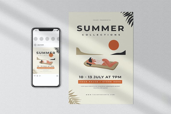 Thumbnail for Summer Collection Flyer
