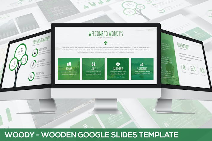 Thumbnail for Woody - Wooden Google Slides Template