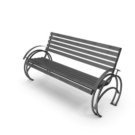 Скамейка узорчатая полоса