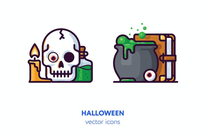 Thumbnail for Halloween icons