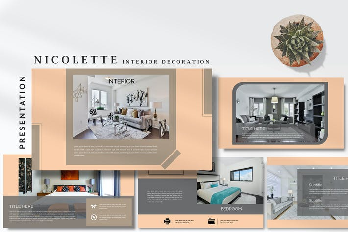 Nicolette Interior Decoration - Google Slides