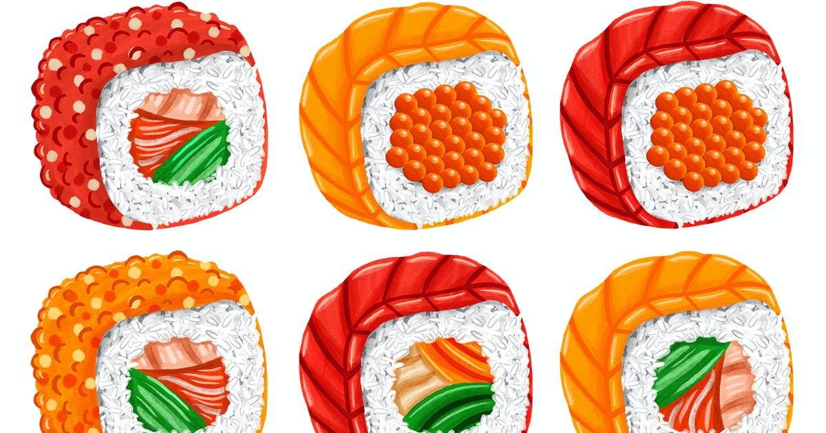 Download Sushi by medzcreative