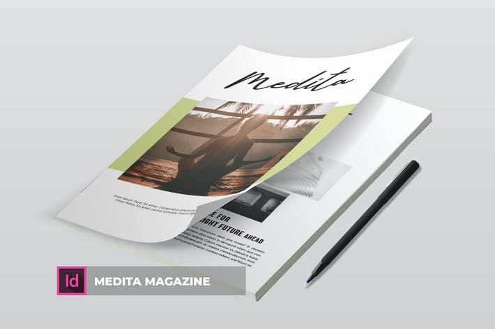 Thumbnail for Medita | Magazine Template