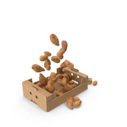 Box With Sweet Potatoes