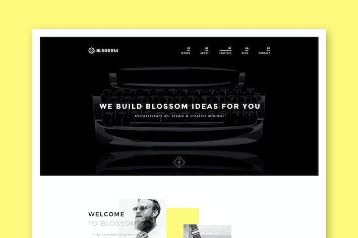 Thumbnail for Blossom - Minimal Portfolio HTML5 Template