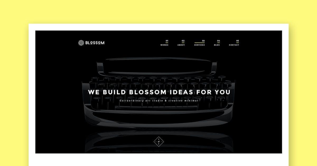 Download Blossom - Minimal Portfolio HTML5 Template by PremiumLayers